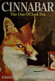 Cover of: Cinnabar, the one o'clock fox