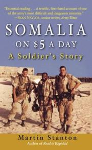 Cover of: Somalia on $5 a Day | Martin Stanton