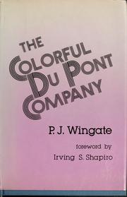 Cover of: The colorful Du Pont Company