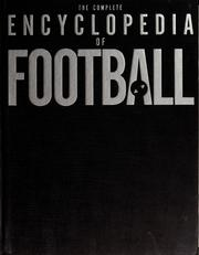 Cover of: The complete encyclopedia of soccer | Keir Radnedge