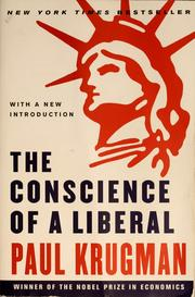 Cover of: The conscience of a liberal