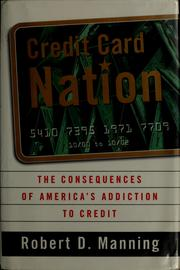 Cover of: Credit card nation