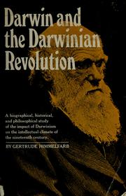 Cover of: Darwin and the Darwinian revolution