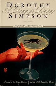 Cover of: A day for dying | Simpson, Dorothy