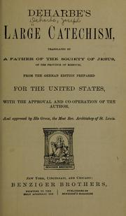 Cover of: Deharbe's large catechism