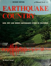 Cover of: Earthquake country