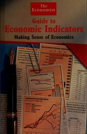 Cover of: The Economist guide to economic indicators