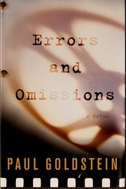 Cover of: Errors and omisions