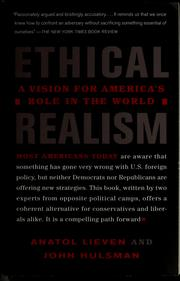 Cover of: Ethical realism