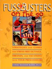 Cover of: Fussbusters on the go
