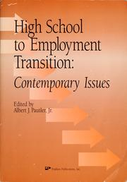 Cover of: High school to employment transition