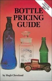 Cover of: Bottle Pricing Guide | Hugh Cleveland