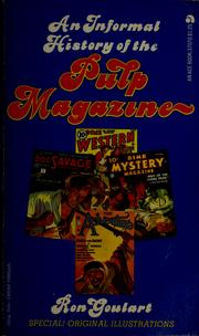 Cover of: An informal history of the pulp magazine