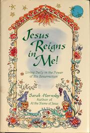 Cover of: Jesus reigns in me!