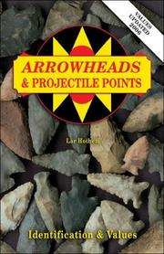 Cover of: Arrowheads & projectile points