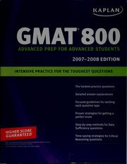 Cover of: Kaplan GMAT 800 | Eric Goodman