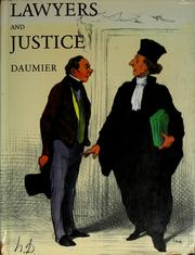 Cover of: Lawyers and justice