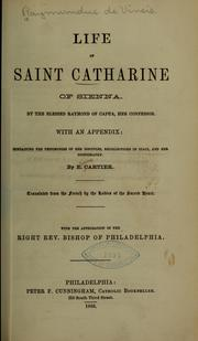 Cover of: Life of Saint Catharine of Sienna