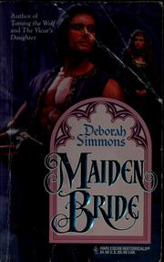 Cover of: Maiden bride