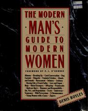 Cover of: The modern man's guide to modern women