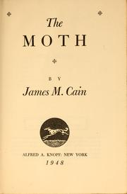 Cover of: The moth