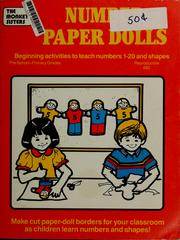 Cover of: Number paper dolls | Eunice M. Magos