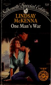 Cover of: One man's war | Lindsay McKenna