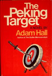 The Peking Target by Adam Hall