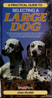 Cover of: A practical guide to selecting a large dog