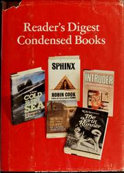 Cover of: Reader's digest condensed books