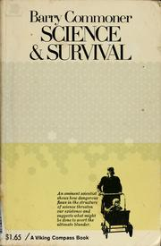 Science and survival by Barry Commoner
