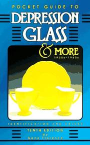 Cover of: Pocket Guide to Depression Glass & More 1920S-1960s