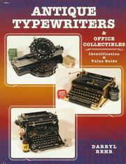 Cover of: Antique typewriters & office collectibles