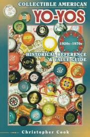 Cover of: Collectible American yo-yos, 1920s-1970s