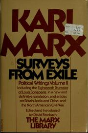 Cover of: Surveys from exile