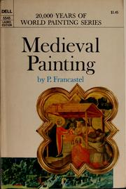Cover of: Medieval painting