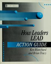 Cover of: How leaders lead
