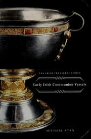 Cover of: Early Irish communion vessels