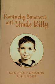 Cover of: Kentucky summers with uncle billy