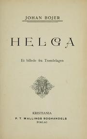 Cover of: Helga