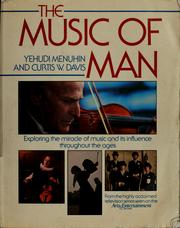 Cover of: The music of man