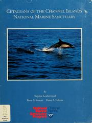 Cover of: Cetaceans of the Channel Islands National Marine Sanctuary | Stephen Leatherwood