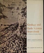 Cover of: Geology and earth sciences sourcebook