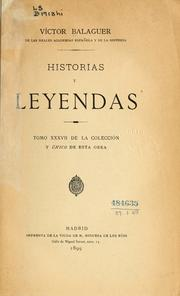 Cover of: Historias y leyendas