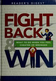 Cover of: Fight Back & Win | Reader's Digest Association