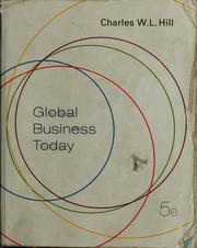 Cover of: Global business today