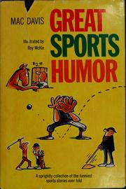 Cover of: Great sports humor. | Mac Davis