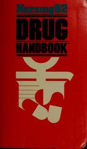 Cover of: Nursing94 drug handbook |