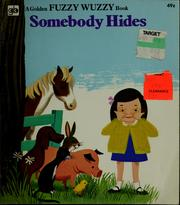 Cover of: Somebody hides | Eileen Daly