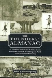 Cover of: The Founders' Almanac